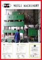 weili maquinaria de calidad superior de cuatro columnas prensa de palanca de la máquina