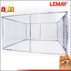 3x3x1.8m Large square tube silver pet dog cages
