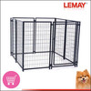 2.3x2.3x1.2m Cheap silver medium pet products puppy pens