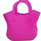 2014 New Listing, Plastic Waterproof silicone tote bag for women for Various Usages
