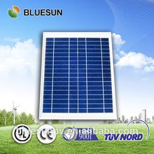 Bluesun nice design hot sell small panel poly 10w solar panel