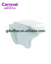 Ceramic sanitry ware toilet manufacturer wall mounted wash basin water toilet closet 2040E