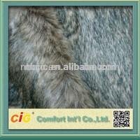 Long Hair Fake Wolf Fur Fabric