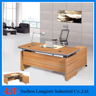 executive table solid wood boss desk office furniture