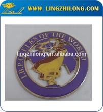 I.B.P.O ELKS Of The World Custom Metal Vehicle Badge