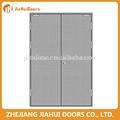 entrada de fuego de la puerta doble con barra de pánico por la fábrica de yongkang