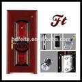 أسلوب جديد أفضل نوعية 4728 u pvc الأبواب الأبواب المعدنية الأمن الباب الصلب