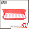 Wholesale rectangular plastic food compartment tray