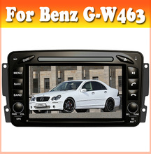 ASN car dvd player for Benz G-W463 1998-2004 radio with gps navigation bluetooth touch sreen