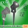 3W low voltage energy saving 12V beautiful solar garden light led garden light