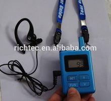 China Professional Factory Sale 200 Meters 2.4G pro horn loudspeaker pa portable loudspeaker