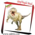 personalizzato stampato dinosauro foto badge