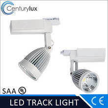 1 cheapest 20w bridgelux cob led track light for clothing shop dimmable SAA TUV CE UL