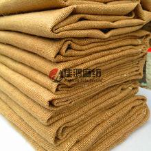 Durable luggage materials jute fabric bag materials