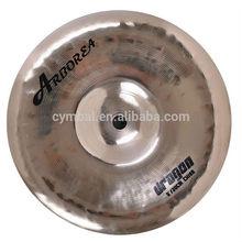"B20 100% handmade 8"" China cymbal /2015 hot sale cymbals"