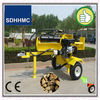 Hot Selling 40 Ton Petrol Engine Log Splitter For Tractor,6 Seconds Fast Speed