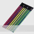 triangle shape items custom printed pencils
