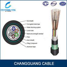 direct bury/underground fiber optic cable GYTA53 fiber optic cable equipment