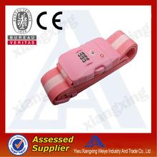 Custom nylon password lock luggage belt