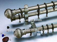 2014 fine design European style 25mm iron curtain pole/ rod