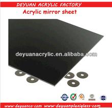 1 mm acrylic black mirror sheets/ PS acrylic mirror sheets