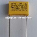 0.22uf 275v filme de polipropileno metalizado capacitor/caixa- tipo de filme metalizado capacitor