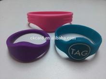 nice silicone wristband pedometer