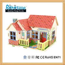 Robotime DIY 3D wooden toy Farm House