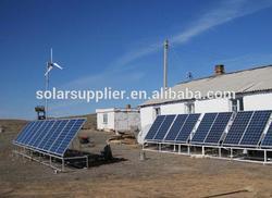 2KW 5KW solar&windmill hydrogen genrator set/1KW solar panel energy system with wind turbine