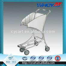Hand Trolley 4 Wheel Aluminium Alloy personal portable shopping trolley bag