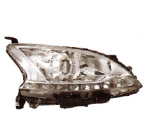 NISSAN SYLPHY 2012 head lamp