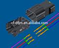 3 pin de plástico para hombre y para mujer de alambre de extremo a extremo de alambre conectores de automóviles