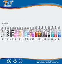 bulk e cigarette purchase vaporizer pen made in China vape e shisha new product batteries/Queen-tank TG diamond e cigarette 2013