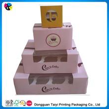 2014 printing paper 6 hole cupcake boxes purple sale