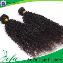 Fashion beauty hair dark and lovely hair relaxer 100% human malaysian kinky curly hair