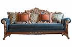 V511B-3, 2014 new style french carved sofa set