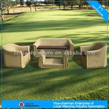 F-902 2014 fashionable high quality hand weaving outdoor wicker sofa
