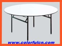 Más fácil guardar lugar hotel de comedor mesa plegable CT-8006