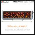 Mini 16*64 schermo a led/piccolo display a led/tabellone a led per auto display