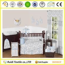 Professional Manufacturer 100% Cotton Printed Baby Bed Sheet Set