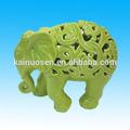 figurine éléphant en céramique pour la décoration maison