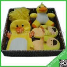Professional Natural gift set yellow dark baby set