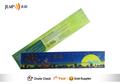Plástico + governante papel, Efeito 3d, Régua presente