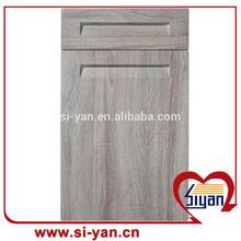 popular design wooden cabinet door kitchen pvc