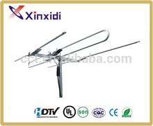 Portable yagi folding satellite antenna