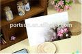 Hecha a mano chino viento postal de negocios, la flor de loto de la piscina por luz de la luna