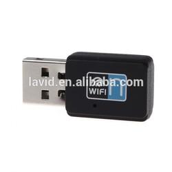 Min 300Mbps USB 2.0 Wi-Fi WLAN Network Adapter