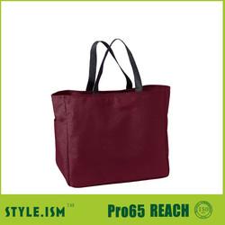 Wholesale cheap price no woven foldable large reusable shopping bag