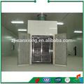 frutas y vegetales de secado de la máquina del túnel del horno deshidratador secador de bandeja