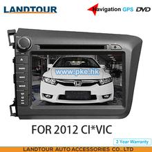 Car multimedia Player Navigation GPS DVD for HON*DA CI*VIC 2012 CE FCC ROHS